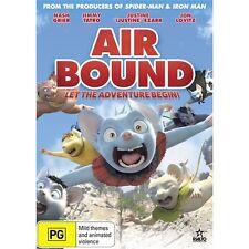 AIR BOUND-DVD-Voice of Justin Ezarak-Region 4-New AND  Sealed