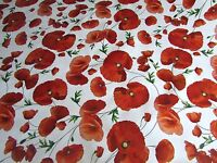Vinyl PVC Tablecloth Wipe Clean Roses Sunflower lavender Poppies Oilcloth 140cm
