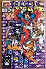 The New Mutants #100 Marcel Comics