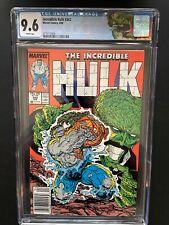 Incredible Hulk 342 CGC 9.6 Retired Hulk Steranko Label Marvel Comic Book GR1-12