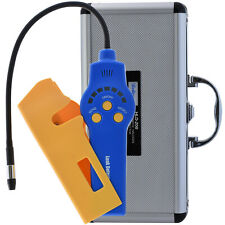 Halogen refrigerant leak detector with airflow pump home car airconditioning