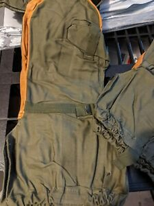 US Military Army Cold Weather Hunting Skiing Snow Mitten Leather Gloves