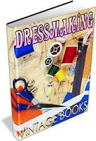 Learn Dressmaking 116 Vintage Books on DVD Fashion Costume Pattern How To Design
