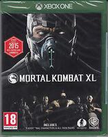Mortal Kombat XL Xbox One Brand New Factory Sealed