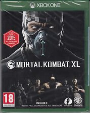 Mortal Kombat XL Xbox One Brand New Factory Sealed