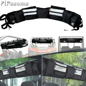 UTV Roll Cage Organizer Case Storage Cargo Rack Pouch For Yamaha Wolverine Black