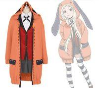Kakegurui Compulsive Gambler Cosplay Costume Yumeko Jabami Halloween Uniform New