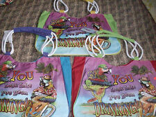 Nwt Colorful Big Beach Bag Tote Caribbean Parrot You Look Like Ive Been Drinking