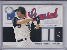 MAGGLIO ORDONEZ 2003 Fleer Patchworks Licensed Apparel Jersey #404/500 (C8899)