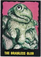 OUTER LIMITS 1964 TOPPS (BUBBLES, INC) VINTAGE CARD #15 THE BRAINLESS GLOB