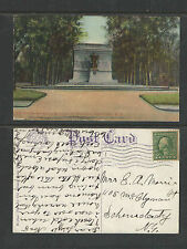 1912 THE SOLDIERS AND SAILORS MONUMENT IN WASHINGTON PARK ALBANY NY POSTCARD