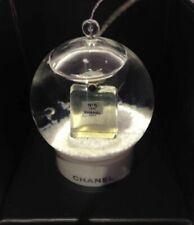 New Chanel No.5 Perfumes VIP GIFT Mini Snow Globe Ornament Pocket Edition