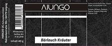 Viungo® Gold Line - Gewürzdose Bärlauch Kräuter - 40g