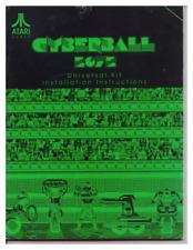 Cyberball 2072 Cyber Ball Arcade Video Game Full Service & Repair Manual Book Tb