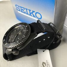 Seiko 5 Sports Automatic Black Dial Mens Watch SRPD79K1 BLACK STEALTH MODIFIED