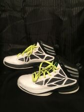 Men's Adidas Sprint Web Basketball Sneakers Size 7.5 White High Tops