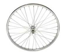 "BICYCLE STEEL FRONT WHEEL  24"" x 1.75 X 12G SPOKES CRUISER LOWRIDER BMX NEW!"