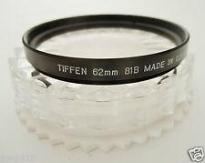 Tiffen 62mm 81B color filter