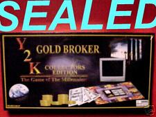 NIB Y2K COLLECTORS Edition GOLD BROKER! Millennium Game