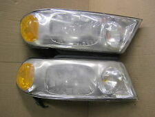 LINCOLN NAVIGATOR 98-02 LINCOLN BLACKWOOD 02-03 HEADLIGHT SET RH & LH OE PAIR