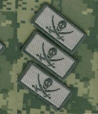 "Daesh Whacker Green Berets Jtf Urban Warfare burdock 2"" 3-Tab: Calico Jack Skull"