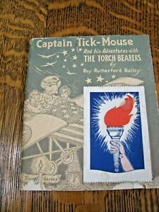 Antique Captain Tick-Mouse and his Adventures booklet-by Elgin National Watch Co