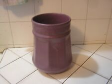 Antique Zanesville  Pottery Pot Purple