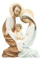 Holy Family Wall Plate Jesus Joseph Mary Italian Catholic Statue Made in Italy