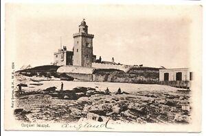 Coquet Island Lighthouse England Auty Series 2594 Vintage Postcard