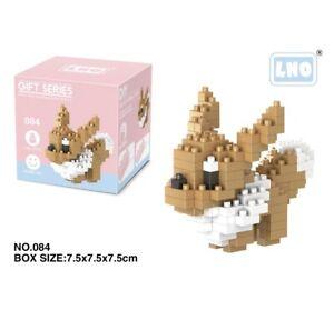 Nintendo Pokemon Eevee 140pcs Nano Blocks
