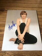 Mariska Hargitay Autographed 11x14 Photo Law & Order Special Victims Chicago PD