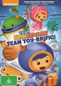 Team Umizoomi - Team Toy-Rrific! (DVD, 2014) Region 4 - NEW+SEALED