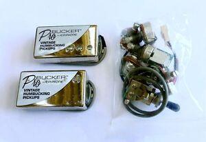 Genuine Epiphone ProBucker Humbucker Pickup CHROME for Gibson Les Paul SG Guitar