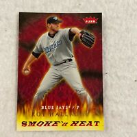 Roy Halladay Toronto Blue Jays Smoke'n Heat 2006 Fleer MLB Baseball Card