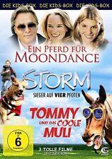 Die Kids-Box 2 - Boxset mit 3 tollen Kinderfilmen (Ein Pferd für Moondance (OVP)