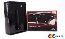 MINI NEW GENUINE R50 R52 R55 R56 R57 R59 SHORT ROD SPORT BLACK ANTENNA 2296772