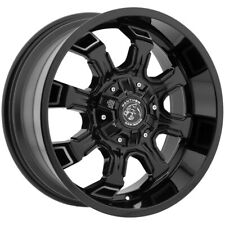 "4-18"" Inch Panther Offroad 579 18x9 6x135/6x5.5"" +0mm Black/Machined Wheels Rims"