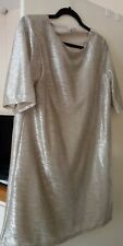 River Island Gold Dress Size 14