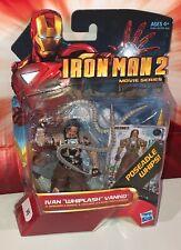 """Marvel Universe Iron Man 2 Movie Series Ivan """"Whiplash"""" Vanko  3.75""""  NEW Hasbro"""