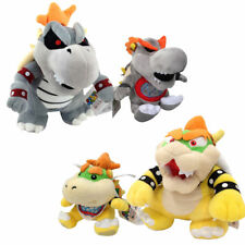 "4X King Bowser Dry Bones Koopa Baby Super Mario Bros Soft Plush Toy Doll 7"" & 9"""