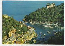 Golfo Tigullio Portofino Il Porto 1990 Postcard Italy 342a ^