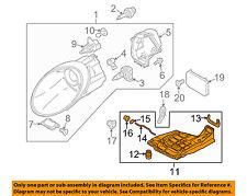 PORSCHE OEM 05-13 911 Headlight Head Light Lamp-Mount Bracket Left 99763107302