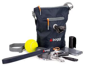 bogg - Dog walkers bag. Poop bag dispenser & waste carrier | roll Oscar grey