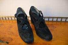 Gabor Pumps High Heels 4/12 schwarz Nubukleder 37,5