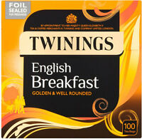 Twinings English Breakfast Tea Bags (100)