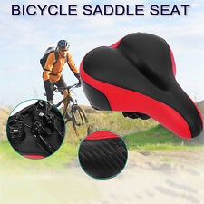 Midsell Wide Big Bum Mountain Bike Bicycle GEL Cushion Saddle Seat Comfortable a