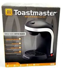 Toastmaster Single Serve Coffee Maker with Removable Drip Tray