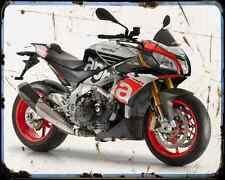 Aprilia Tuono V4 1100Rf 15 03 A4 Metal Sign Motorbike Vintage Aged