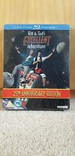 Bill And Ted's Excellent Adventure Steelbook Blu Ray LIMITED EDITION