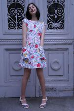 Damen Kleid Blumenkleid 60er True VINTAGE 60's woman flower dress Damenmode